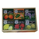 Mlesna Flavour Tea Crate Gift Box, Set of 6