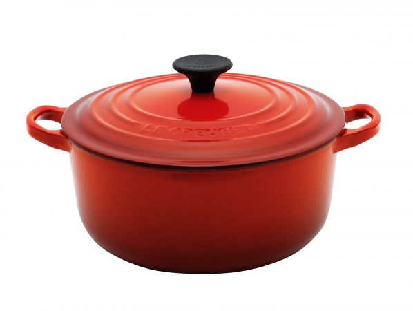 Le Creuset 16cm Round Cocotte - Cherry
