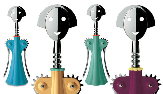 Anna G Corkscrew Bottle Opener by Alessi 