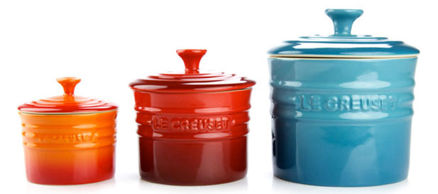 Stoneware Spice Jars by Le Creuset 
