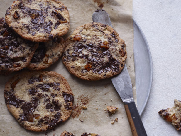 Chocolate and fennel cookies by Annie Bell