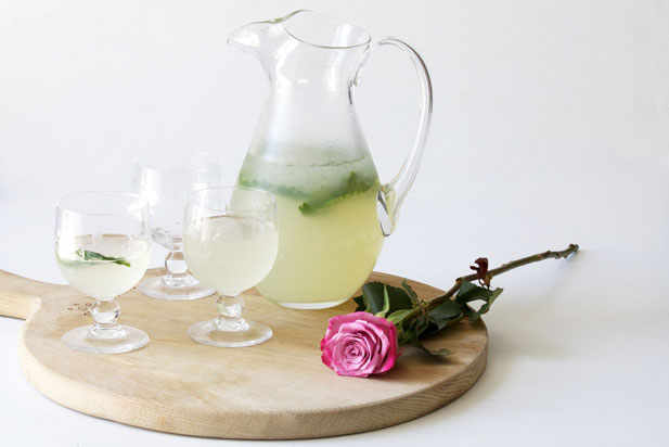 Rose water lemonade