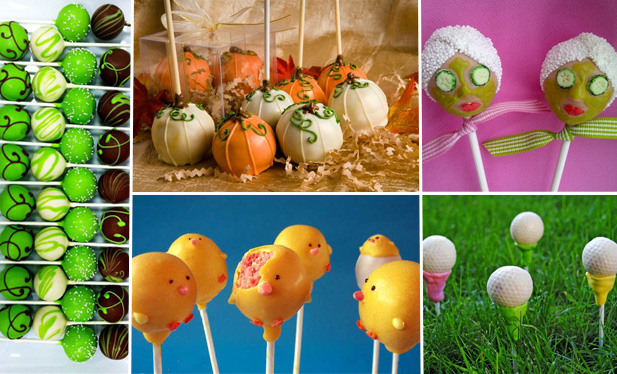 Cake pop inspiration from Pinterest