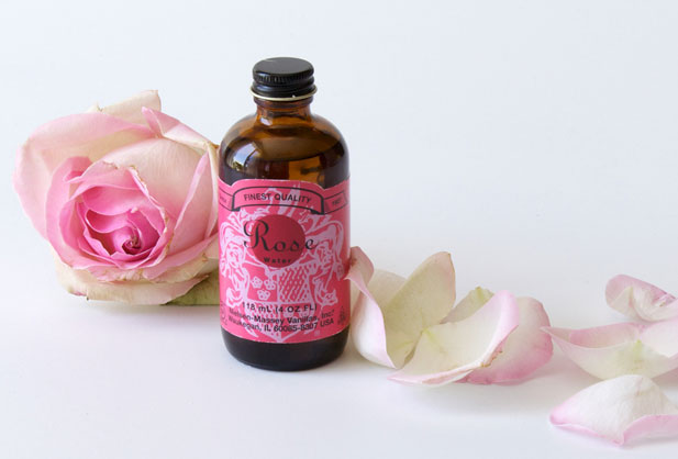 Rose water essence by Nielsen Massey