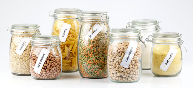 Kitchen craft storage jars