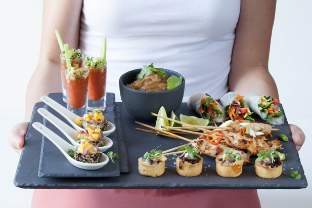 3 easy canap s recipes for Canape receipes