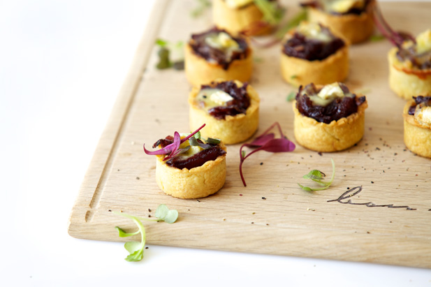 Sweet Caramelised Onion And Feta Tartlets Recipes — Dishmaps