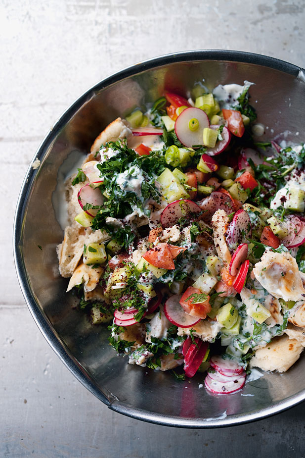 buttermilk dressing chickpeas sumac and pine nuts na ama s fattoush na ...