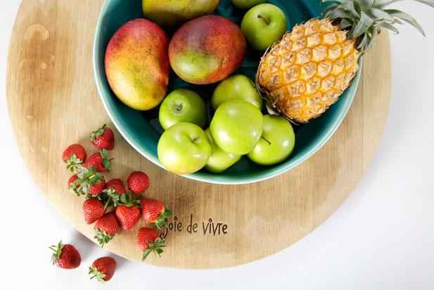 Fresh fruit for dehydration