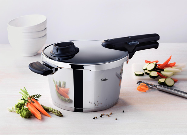 Pressure cookers save time in the kitchen