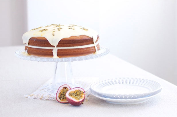 Granadilla Sponge Cake Recipe