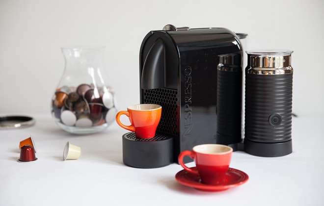nespresso machine without capsules