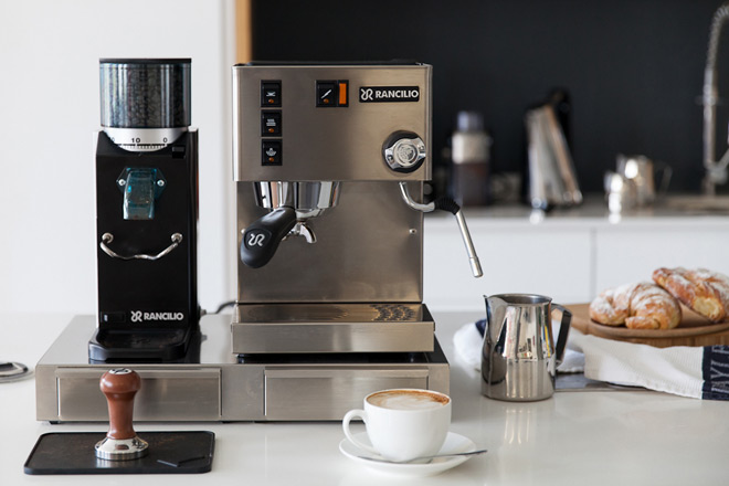 The-Rancilio-coffee-machine