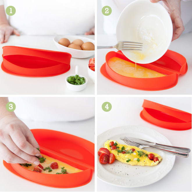 Lékué Silicone Microwave Omelette Maker