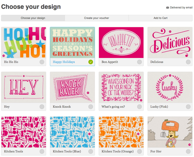 Yuppiechef vouchers a gift well chosen – Voucher Designs