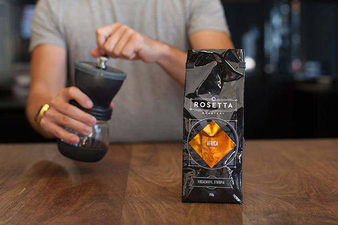 pour over recipe from Rosetta