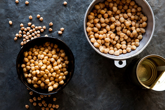 Tips and tricks for cooking chickpeas