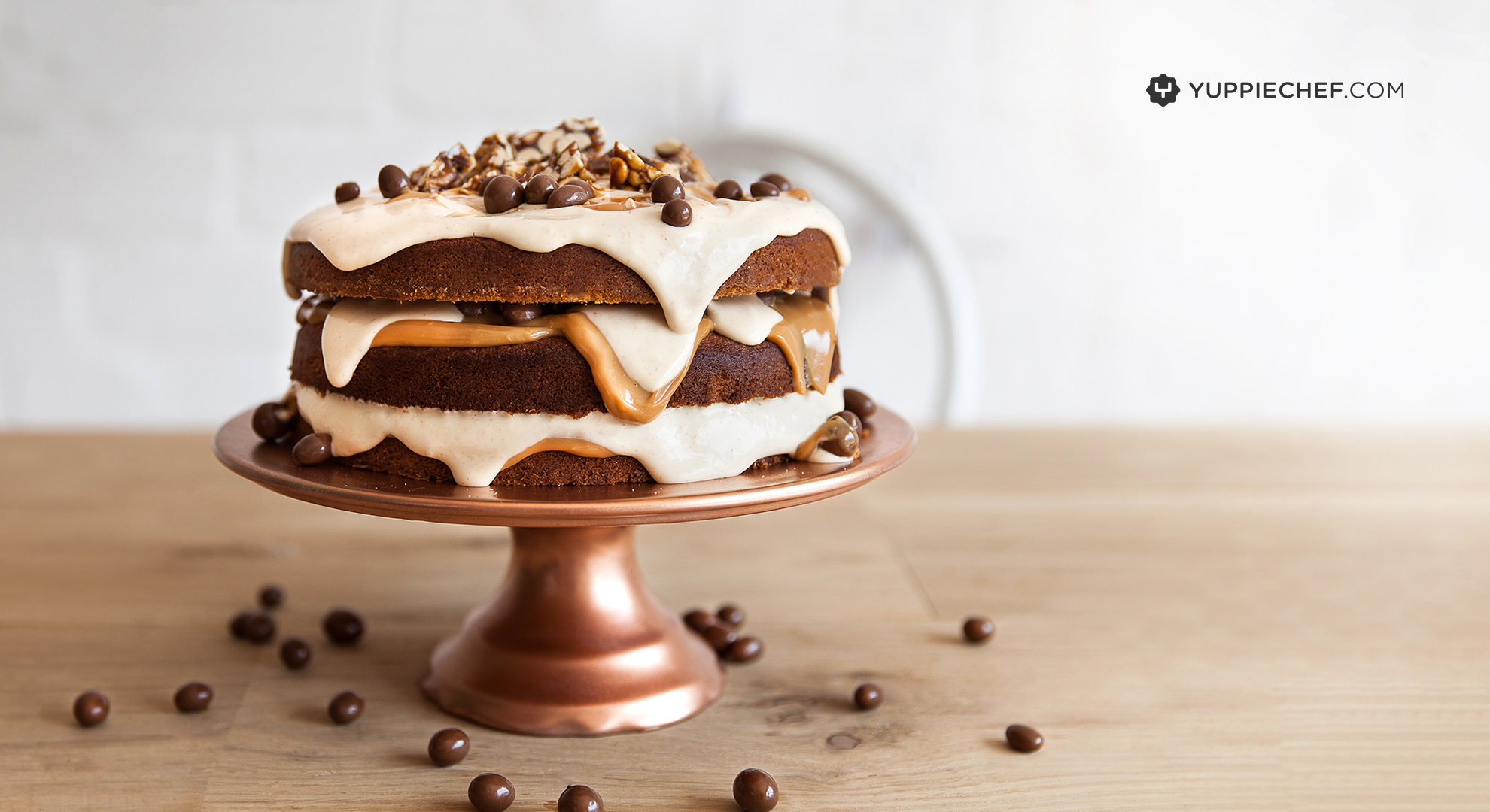 Butter Cake Recipe In Sinhala Download: March's Free Wallpaper: Peanut Butter Cake For Your Screen
