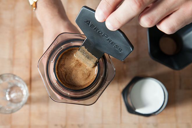 How to make great coffee with the AeroPress