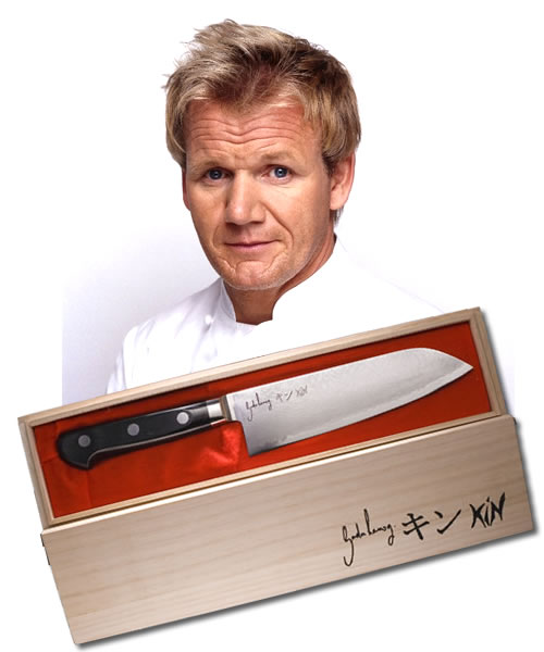limited edition gordon ramsay kin knife yuppiechef magazine. Black Bedroom Furniture Sets. Home Design Ideas