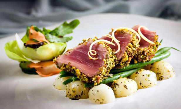 how to cook bluefin tuna fillet