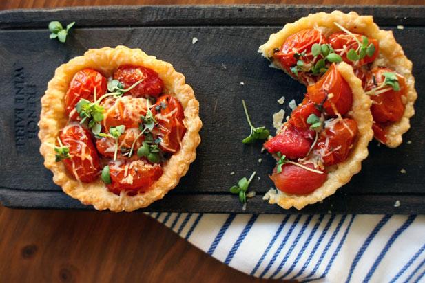 Summer Entertaining: Tomato Tartlets - Yuppiechef Magazine