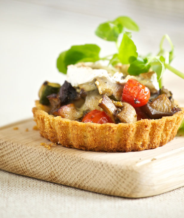 Eat for the Earth: roasted vegetable and goat's cheese tartlets ...